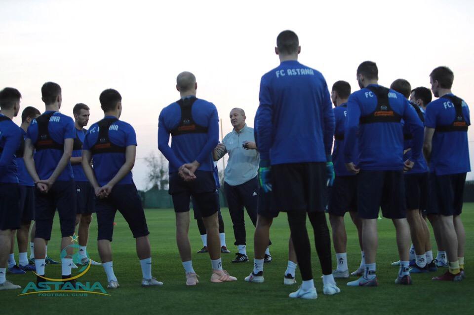 «Астана» футболшылары жаттығу жұмыстарын бастады  - на sport.bugin.kz