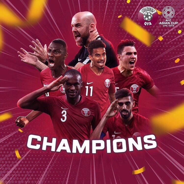 Катар Азия Кубогын тұңғыш рет жеңіп алды - на sport.bugin.kz