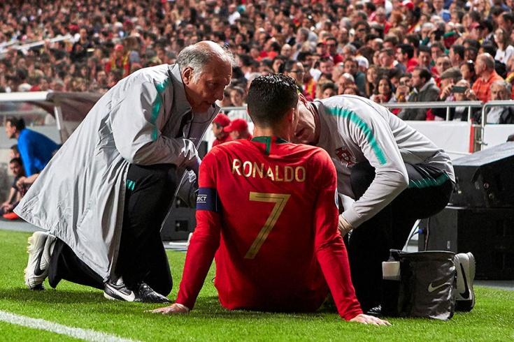 «Ювентус» көшбасшысыз қалды: Роналду ұлттық құрама сапындағы ойында жарақат алды - на sport.bugin.kz