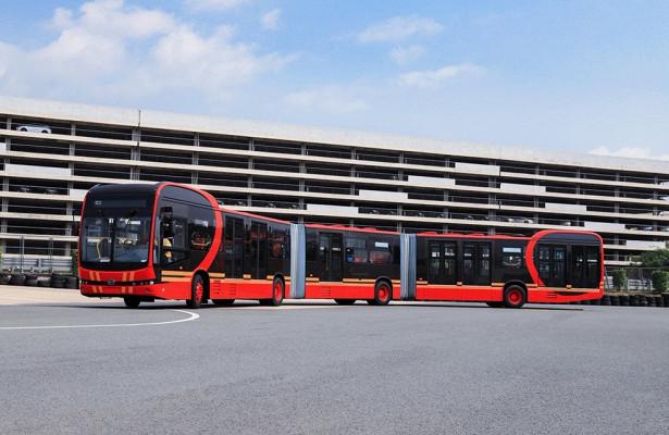 Қытайда 250 адам сыятын автобус жасалды - на bugin.kz