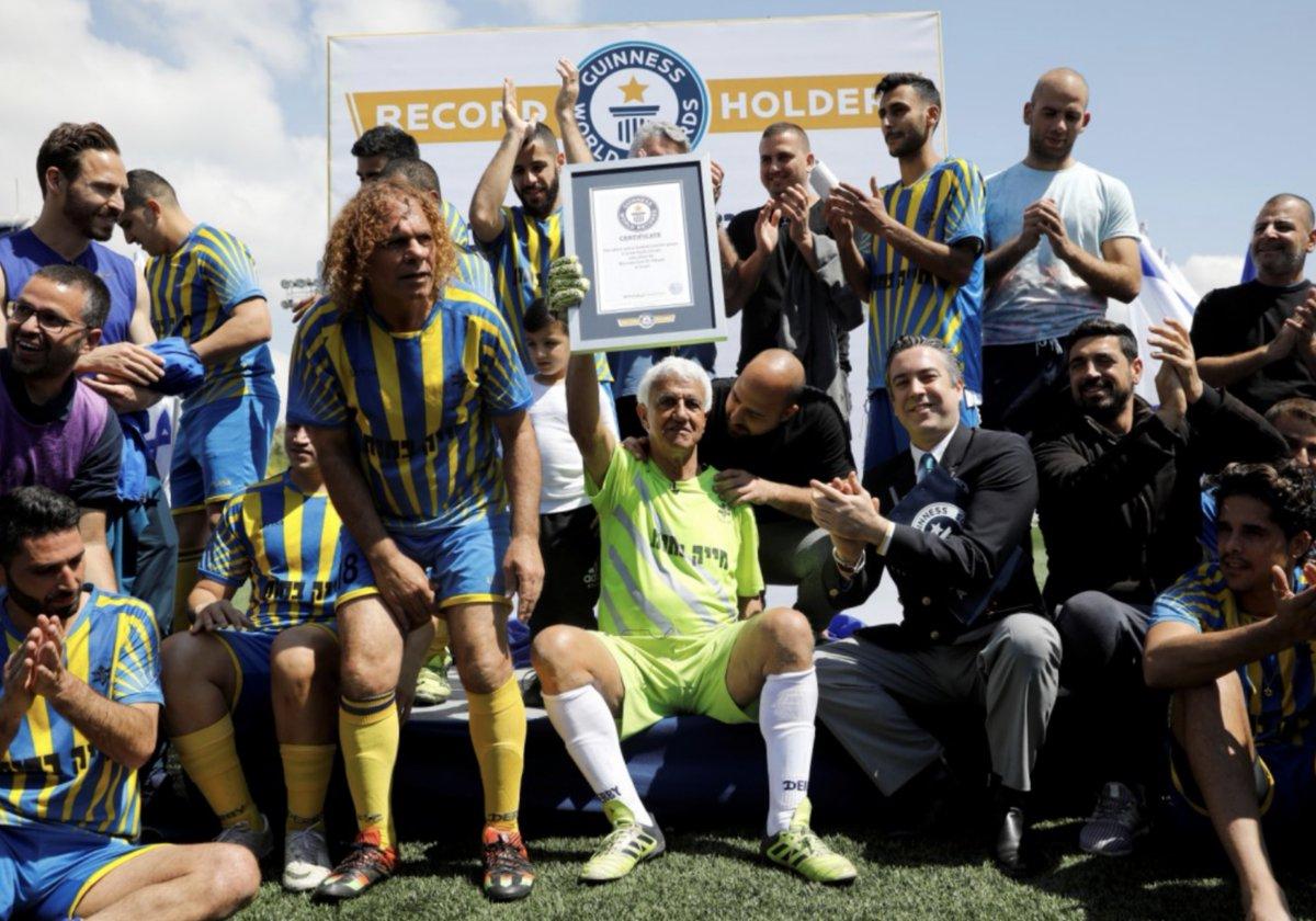 """Израильдік 73 жастағы қақпашы """"Гиннестің рекордтар кітабына"""" енді - на sport.bugin.kz"""