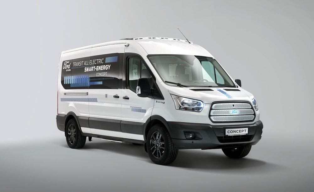 Ford қыста жылы болатын микроавтобус жасап шығарды - на bugin.kz