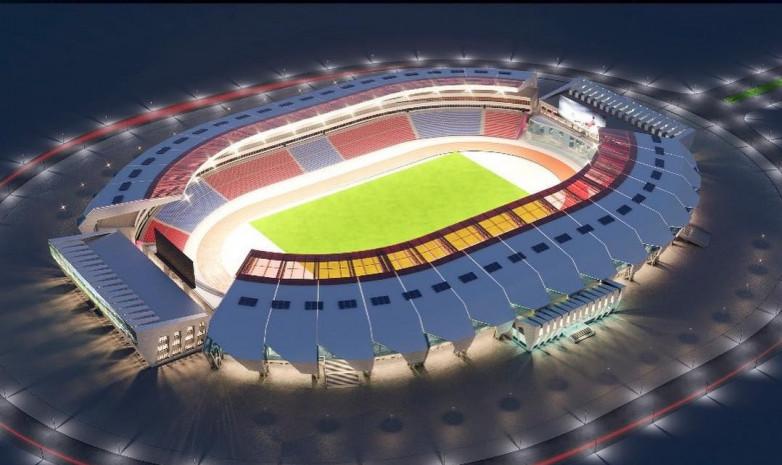 Шымкенттегі стадион жөндеуден кейін қандай болады? - на sport.bugin.kz