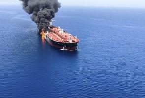 Мұнай танкерлеріне шабуыл жасалды - на politic.bugin.kz