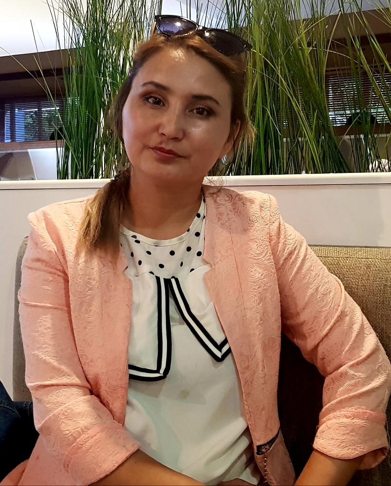 Аида Кожмамбетова  - на Bugin.kz