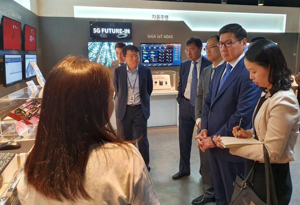 Қазақстан-Корея IT-орталығында бірқатар ауқымды шаралар атқарылмақ - на politic.bugin.kz