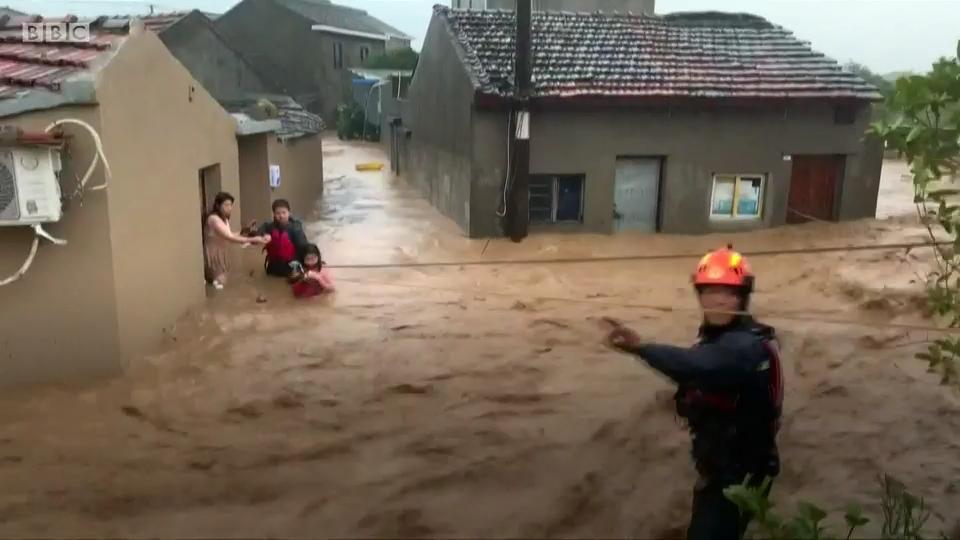 «Лекима» тайфуны: Тайфун Қытай жағалауларына жақындады - на bugin.kz