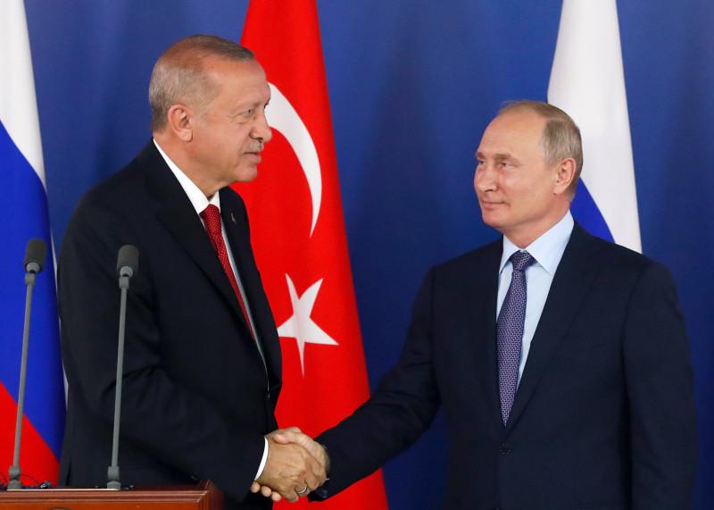 Путин Ердоғанды қолында ойнатуда - на politic.bugin.kz