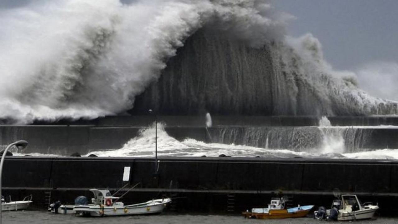 Жапонияға қуатты тайфун жақындап келеді - на weekend.bugin.kz