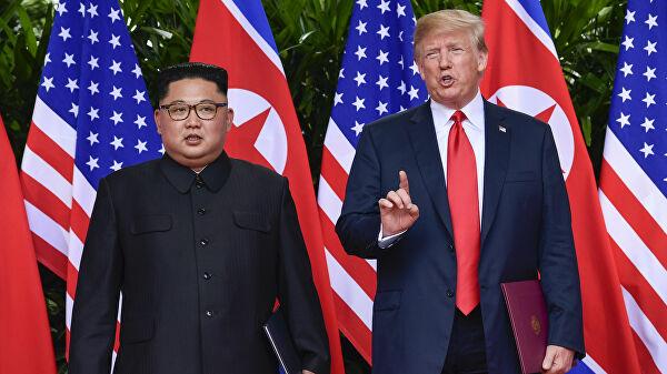 Трамп биыл Ким Чен Ынмен кездесуге дайын - на politic.bugin.kz