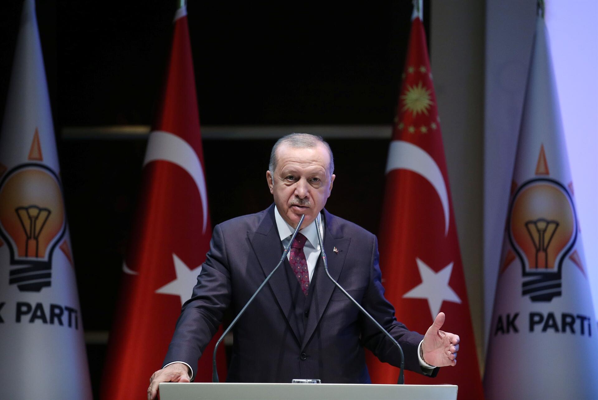Ердоған: Түркияның лаңкес мемлекетті тоқтатқысы келеді - на politic.bugin.kz