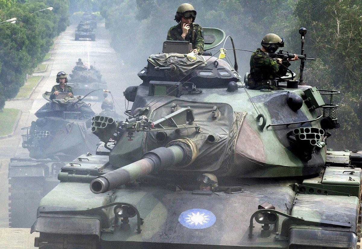 Тайвань Қытаймен соғысқа дайындалуда - на politic.bugin.kz