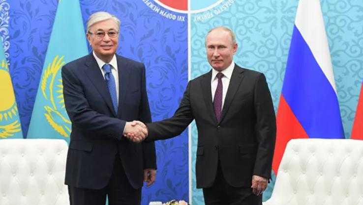 Путин Тоқаевпен негізінде не үшін кездесті? - на politic.bugin.kz