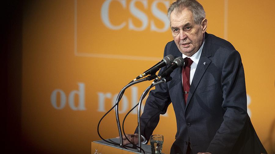 Чехия президенті: Генерал мемлекет басшысы бола алмайды - на politic.bugin.kz