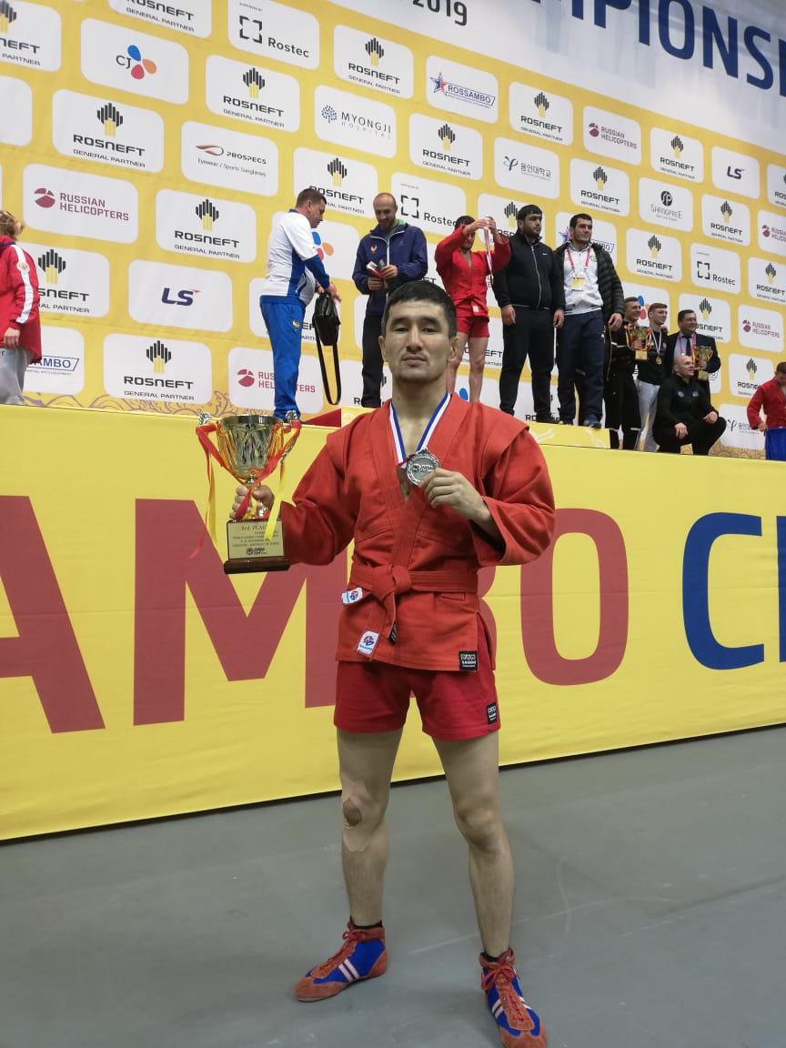 Маңғыстаулық самбошы Кореядан күміспен оралды - на sport.bugin.kz