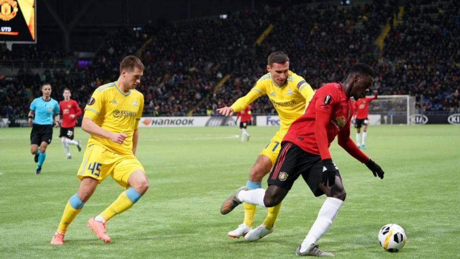 «Астана» «Манчестер Юнайтедті» ұтты - на sport.bugin.kz