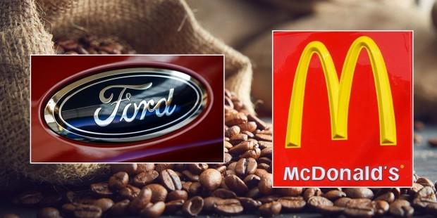 Ford және McDonalds кофе қауызынан автобөлшектер жасау үшін бірікті - на bugin.kz