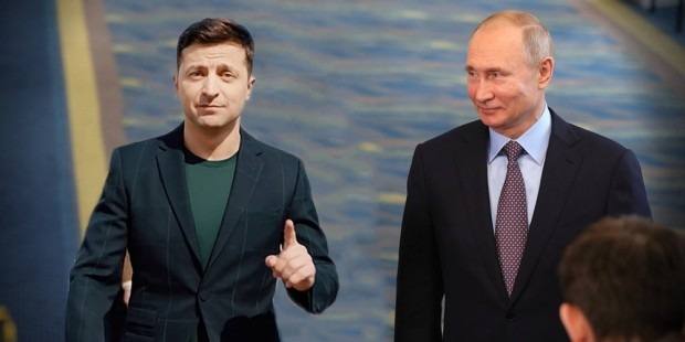 Путин Зеленскиймен кездеседі - на bugin.kz