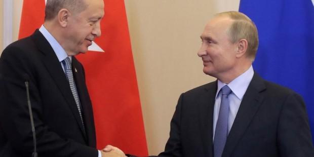 Путин мен Ердоған бір-біріне уәде берді - на bugin.kz
