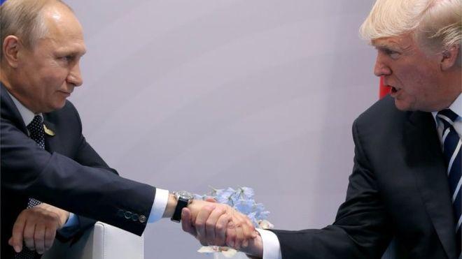 Путин Трампқа алғыс айтты - на politic.bugin.kz