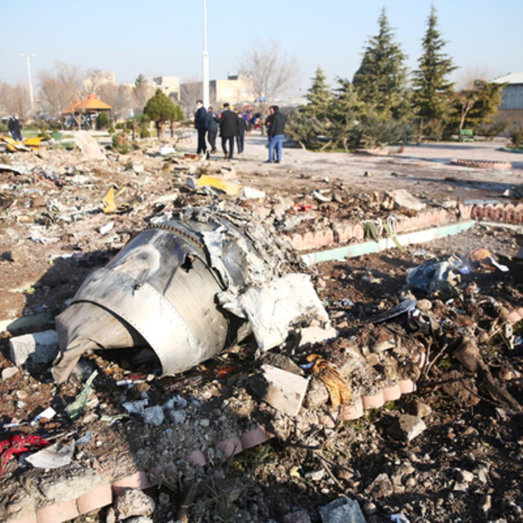 Иран украиналық лайнердің апатқа ұшырауына қатысты кінәні мойындады - на politic.bugin.kz