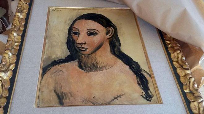 Пикассоның суретін алып кетпек болған миллиардер бас бостандығынан айырылды - на woman.bugin.kz