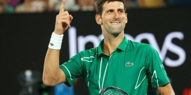 Джокович Australian Open турнирінде топ жарды - на sport.bugin.kz