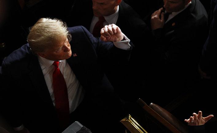 Трамп импичмент ісі бойынша ақталып шықты - на politic.bugin.kz