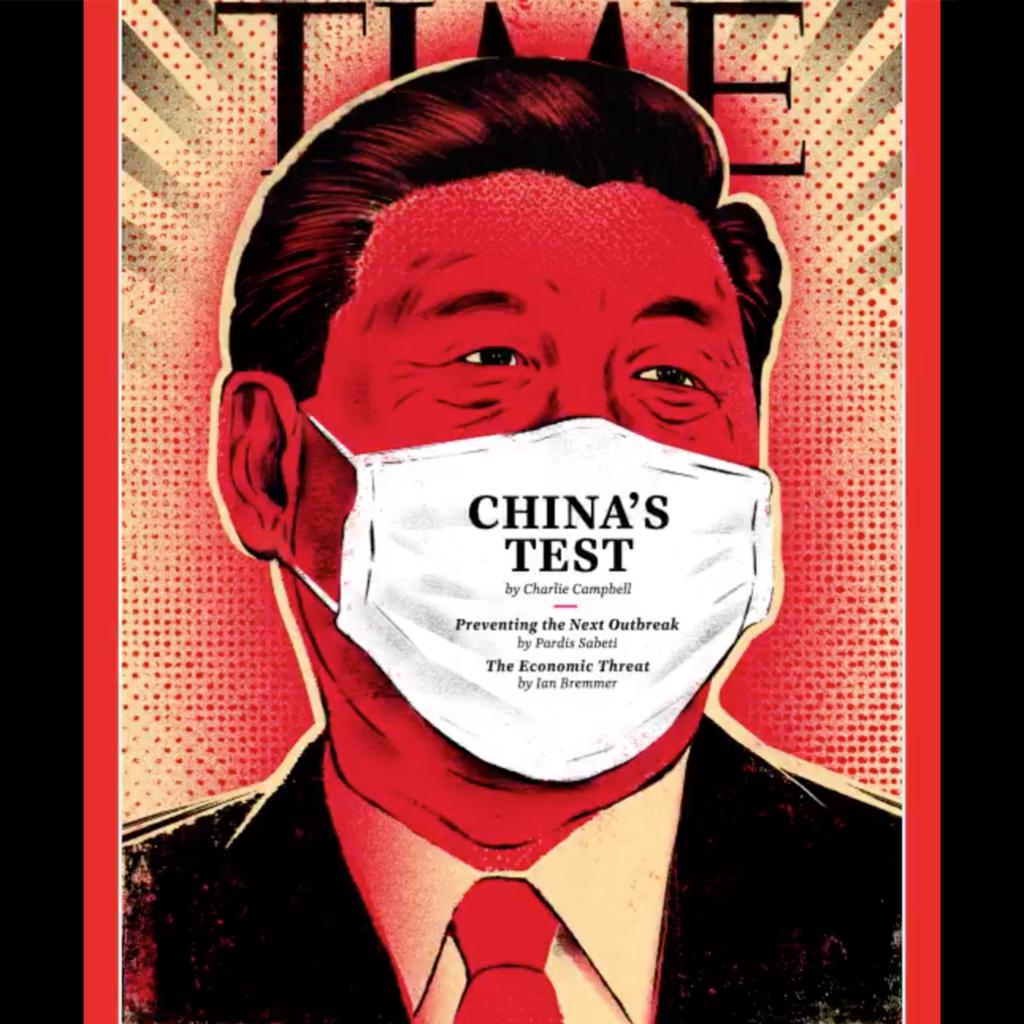 Қытай президенті де «маска» киді - на politic.bugin.kz